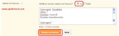 Mengatasi terjadinya Duplikat Content pada blogger