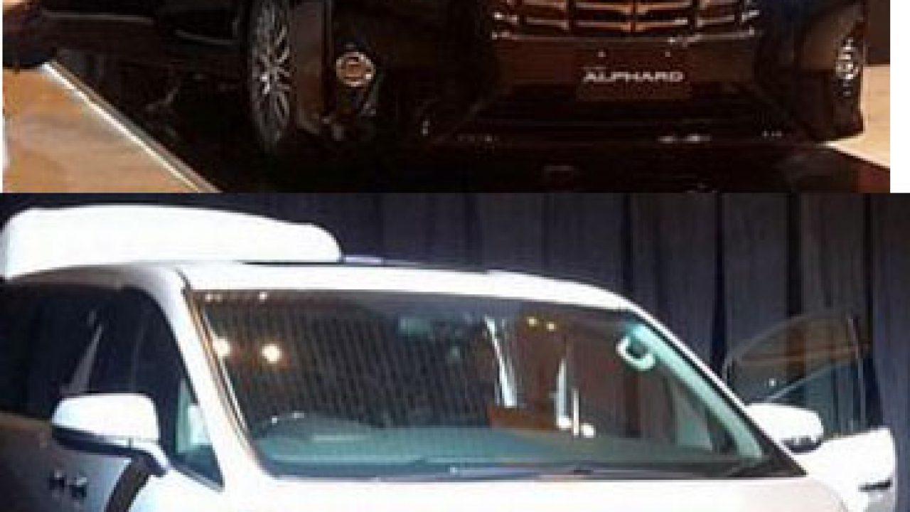 Perbedaan utama Toyota Alphard dan Vellfire