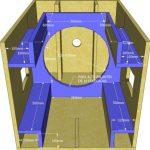 desain box speaker planar horn