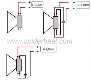 Cara merangkai atau menyambung speaker double coil