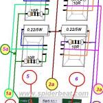 Modifikasi power OCL 150 Watt menjadi 400 wat dengan 60VDC