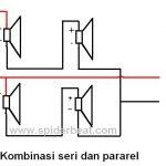 menyambung banyak speaker secara gabungan pararel dan seri