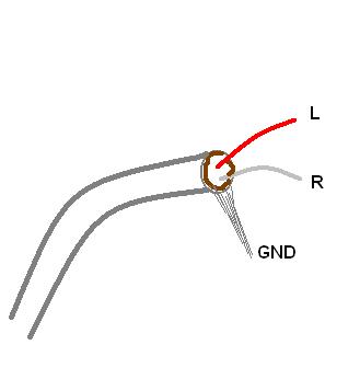 kabel head skerm input output amplifier