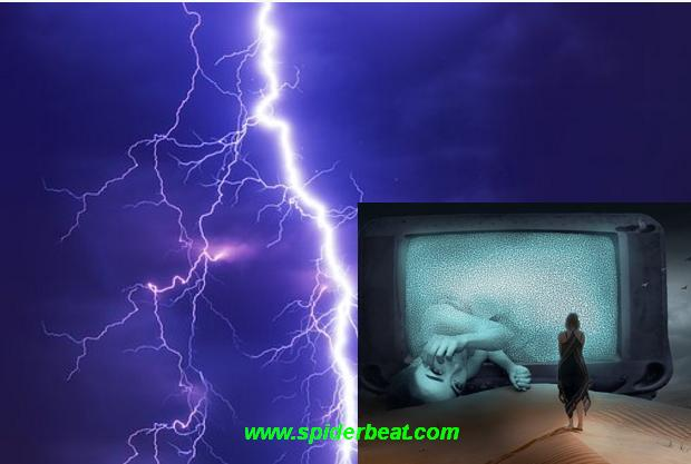 TV rusak terkena petir ciri dan tandanya