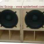 box speaker mini scoop 18 inch