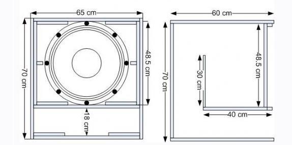 skema box speaker miniscoop sederhana