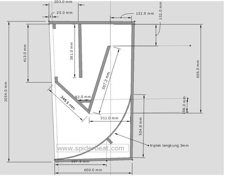 desain miniscoop 15 inch lapangan