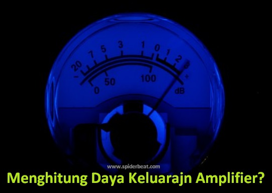 Cara Menghitung Daya RMS amplifier