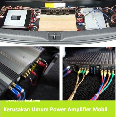 Kerusakan umum power audio mobil