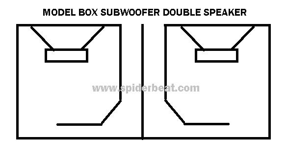 Bok speaker subwoofer 2 speaker