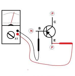 Mengetes transistor NPN 1