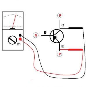 Mengetes transistor NPN 3