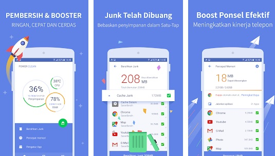 Power Cleaner - app pembersih android