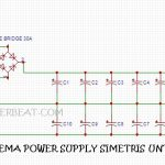 SKEMA POWER SUPPLY SIMETRIS OCL 150W