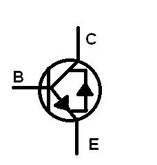 Transistor dengan dioda