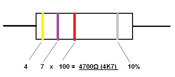 resistor 4K7