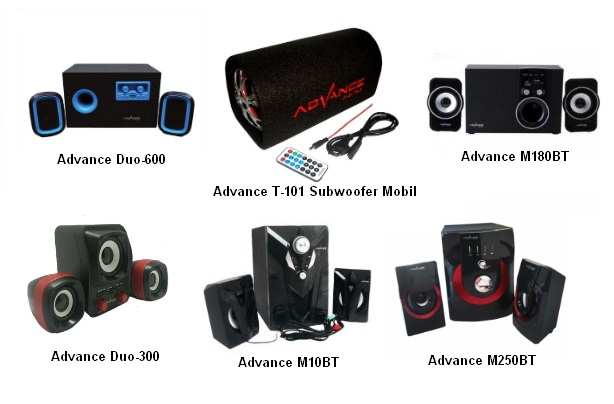 Harga speaker aktif advance