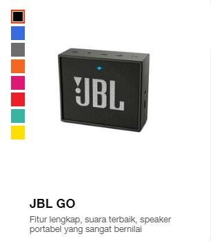 Harga speaker JBL Go