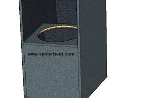 Desain Box subwoofer 12 inchi