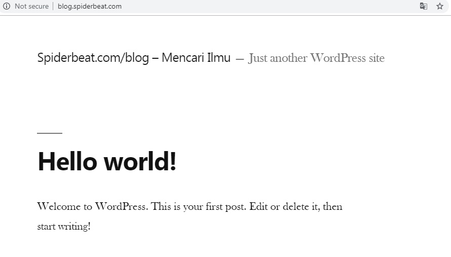 Cara install wordpress nginx debian 9 final