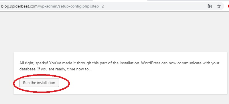 Install wordpress VPS nginx debian 9 8