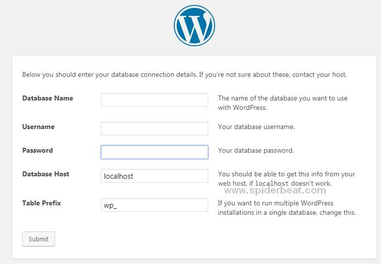 Install wordpress diVPS Nginx debian 9 2