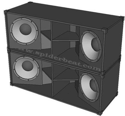 Skema box 18 inch subbass