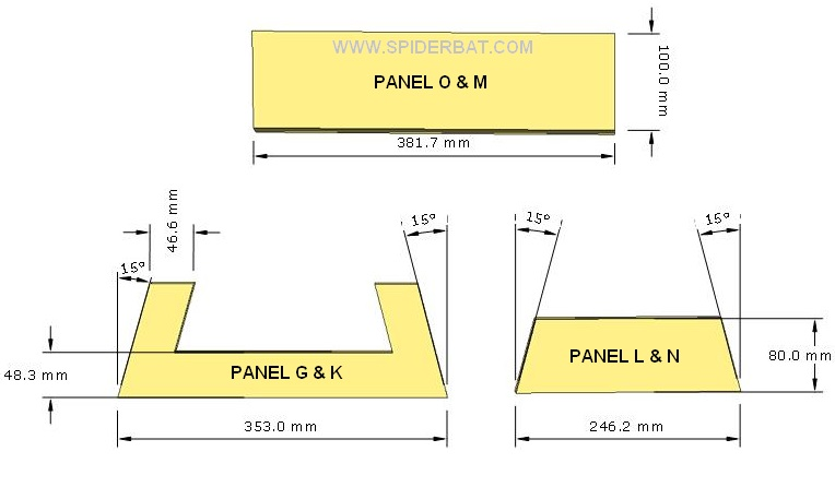 Skema desain box speaker mid hi 12 inch 2