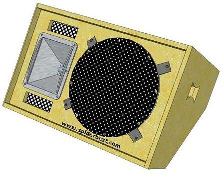 skema box speaker panggung 3b