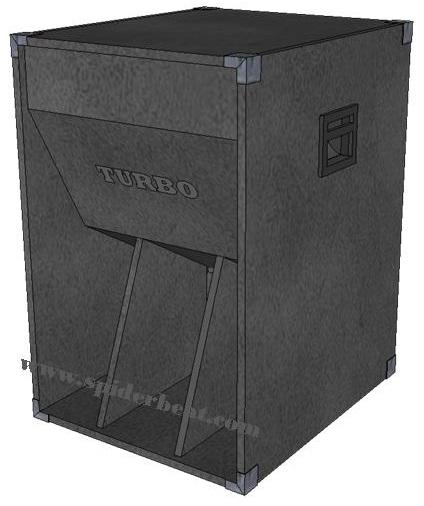 skema box speaker turbo 18 inch