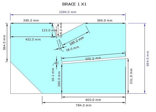 Brace Modul 2 box sub horn 18