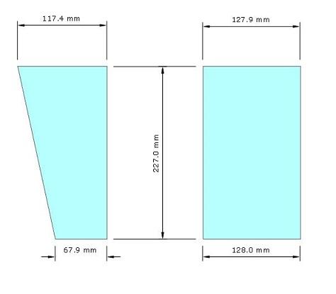 Brace box speaker sub-bass 2x18