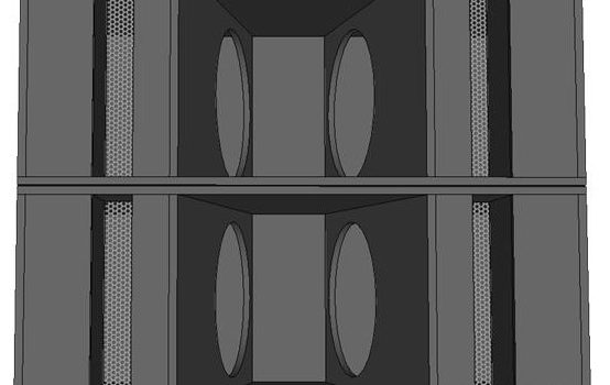 skema desain skema box speaker sub-bass 2x18 sub-bass