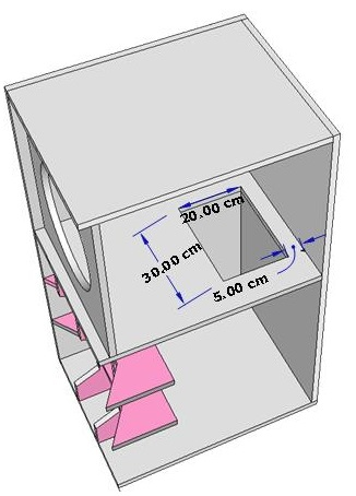 desain box speaker cbs 15 sekat