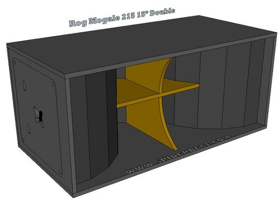 Box speaker HD215 Final
