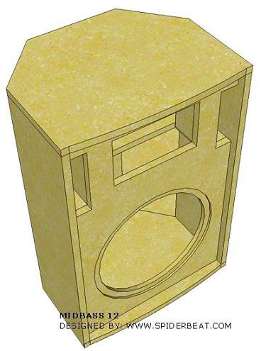 box speaker midbass 12 desain
