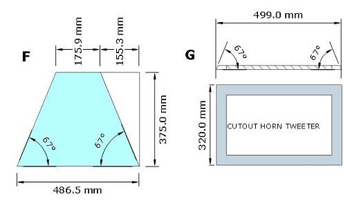 Ukuran brace dan lubang twetter box mid-top 2x12