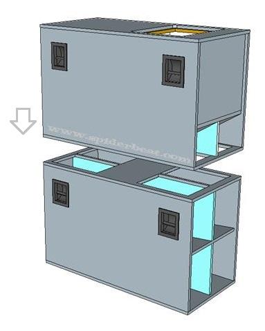 Modul 2 penempatan box sub horn 18