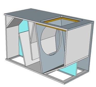 desain box sub horn 18