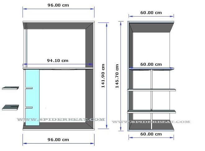 skema box cbs - lebar dan panjang papan