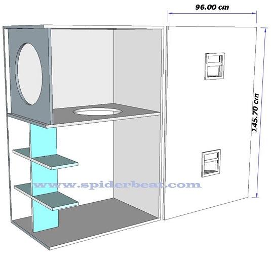 skema box speaker cbs 18 inch 3