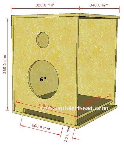 3D skema speaker 6 inch