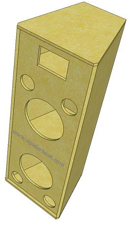 skema box speaker 2-way 2x12