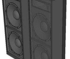 gambar skema box speaker monitor