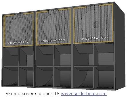 Desain box speaker rumah keong 18