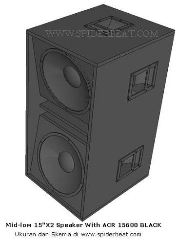 Skema Box speaker 15 inch ACR