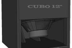 skema box speaker cubo sub 12 inch design