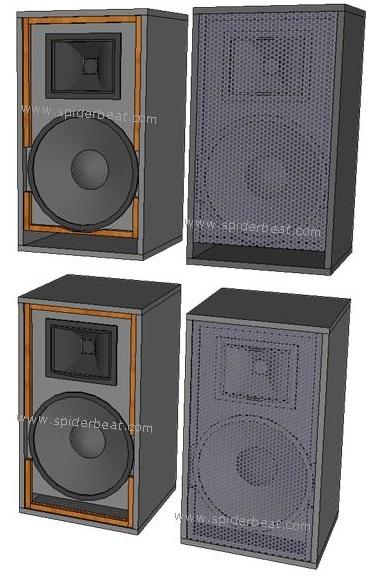 Desain box speaker 12