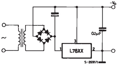 menghasilkan ouput positif untuk IC 78xx
