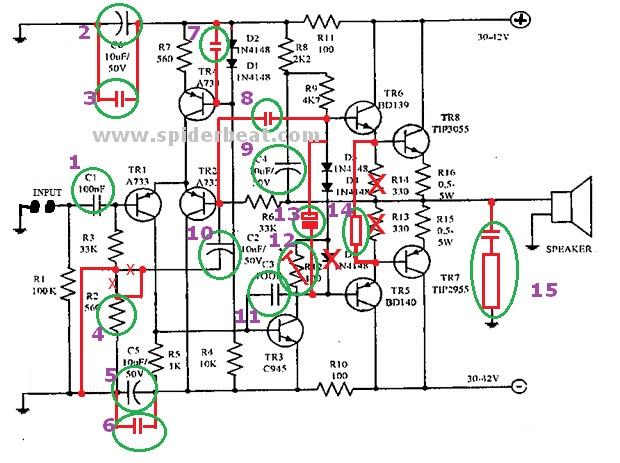 modifikasi power ocl 150 untuk middle